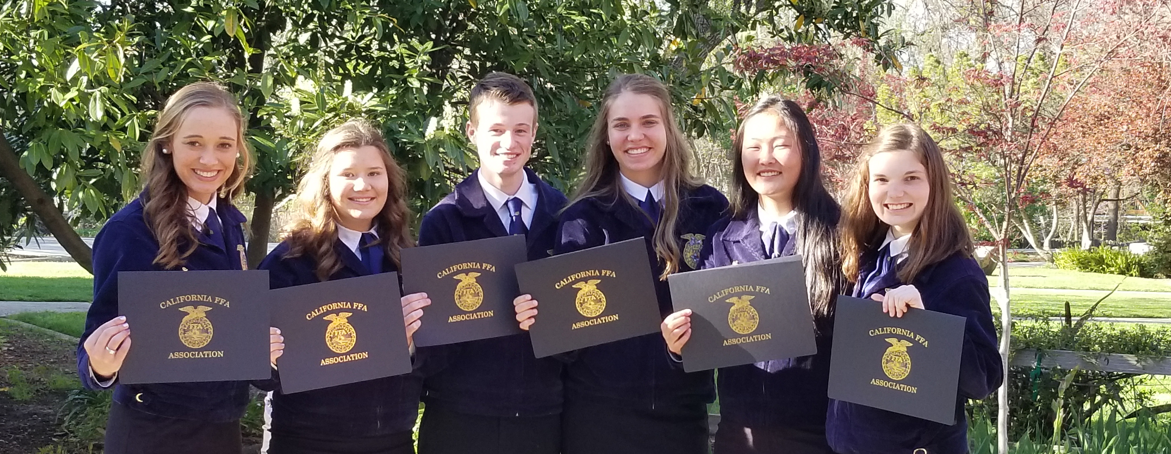 FFA State Degree recipients