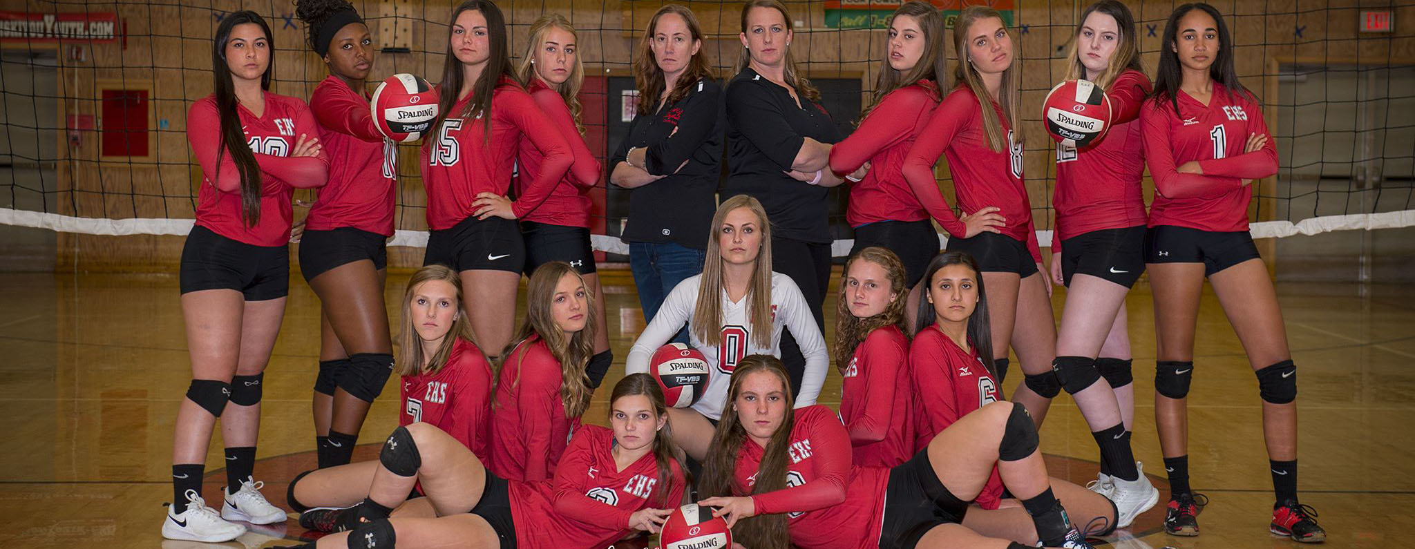 Varsity Volleyball  Photo credit Shelly Suetta