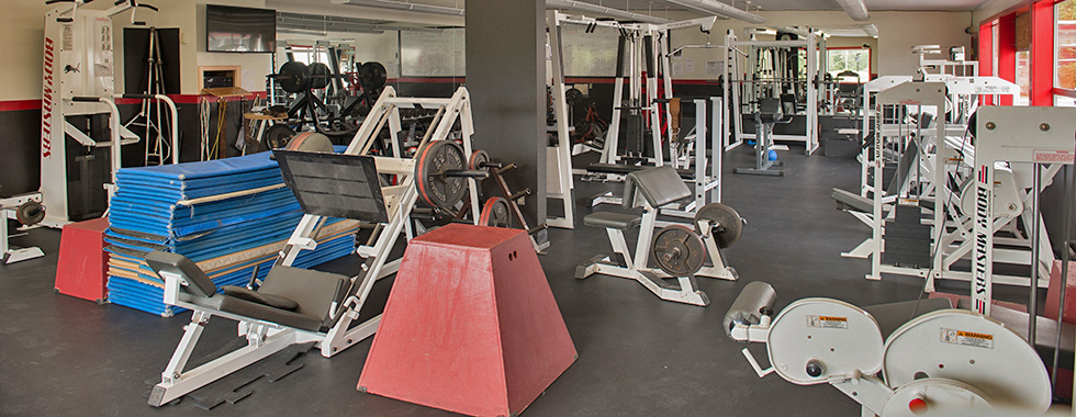 EHS weight room